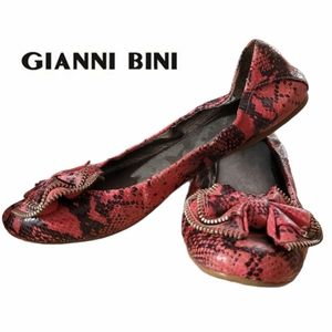 GIANNI BINI Ballet flats with bow